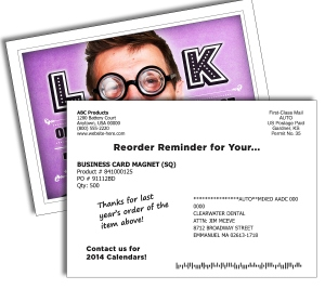 Reorder Reminder Card