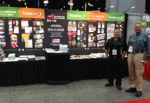 Scott Perry and Nowell Wisch represent TradeNet at 2013 ASI Show in Chicago